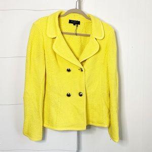 ST. john knit  double breasted blazer/jacket